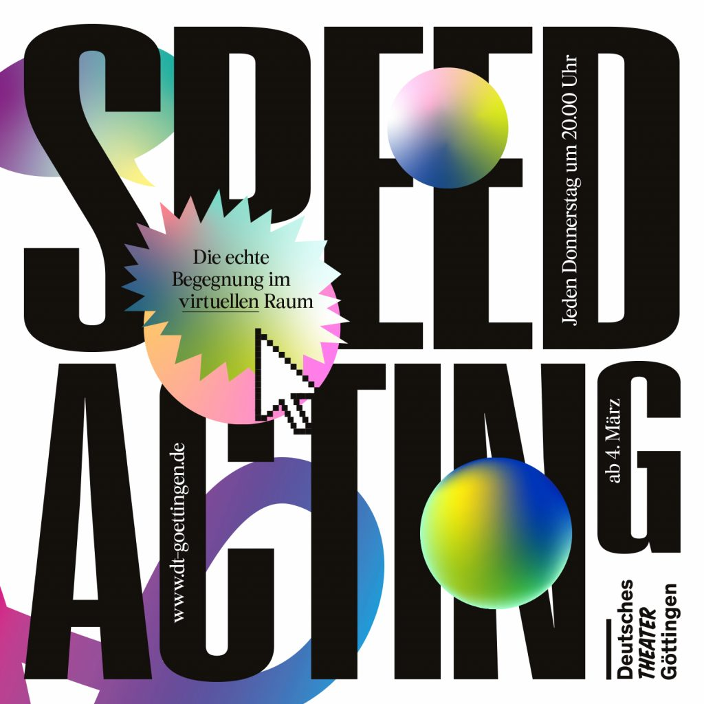 Deutsches Theater – Speed-Acting live ab 20 Uhr